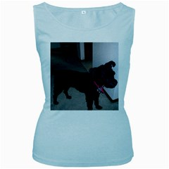Bouvier Shaved Women s Baby Blue Tank Top