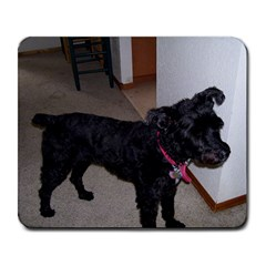 Bouvier Shaved Large Mousepads