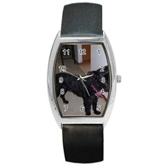 Bouvier Shaved Barrel Style Metal Watch