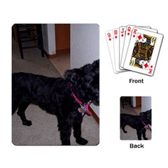 Bouvier Shaved Playing Card