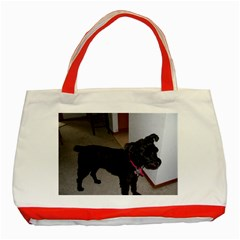 Bouvier Shaved Classic Tote Bag (red)