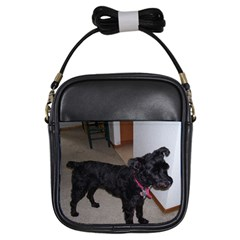 Bouvier Shaved Girls Sling Bags