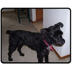 Bouvier Shaved Fleece Blanket (medium)