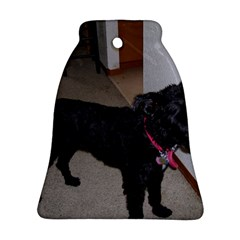 Bouvier Shaved Ornament (bell)