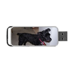 Bouvier Shaved Portable Usb Flash (one Side)
