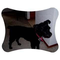 Bouvier Shaved Jigsaw Puzzle Photo Stand (bow)