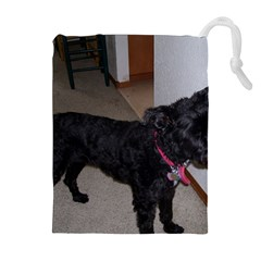 Bouvier Shaved Drawstring Pouches (extra Large)
