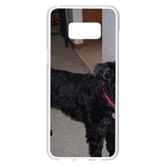 Bouvier Shaved Samsung Galaxy S8 Plus White Seamless Case