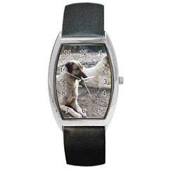 2 Anatolians Barrel Style Metal Watch