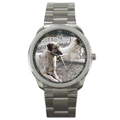 2 Anatolians Sport Metal Watch