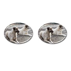 2 Anatolians Cufflinks (oval)
