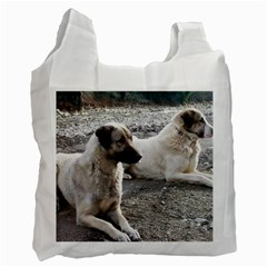 2 Anatolians Recycle Bag (one Side)
