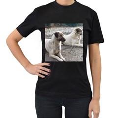 2 Anatolians Women s T Shirt (black)