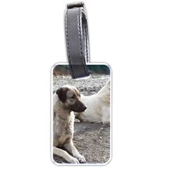 2 Anatolians Luggage Tags (two Sides)