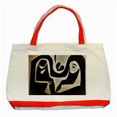 With Love Classic Tote Bag (red)