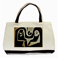 With Love Basic Tote Bag (two Sides)
