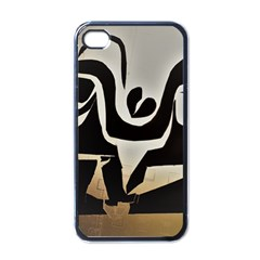With Love Apple Iphone 4 Case (black)