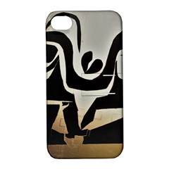 With Love Apple Iphone 4/4s Hardshell Case With Stand