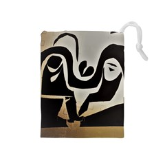 With Love Drawstring Pouches (medium)