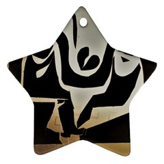 With Love Ornament (star)