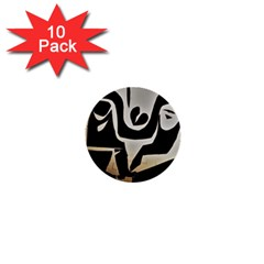 With Love 1  Mini Buttons (10 Pack)