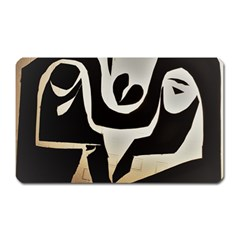 With Love Magnet (rectangular)