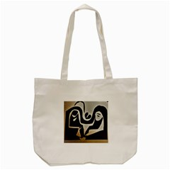 With Love Tote Bag (cream)