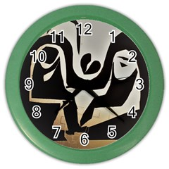 With Love Color Wall Clocks