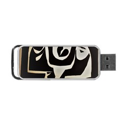 With Love Portable Usb Flash (two Sides)