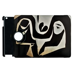 With Love Apple Ipad 2 Flip 360 Case