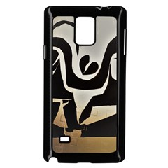 With Love Samsung Galaxy Note 4 Case (black)
