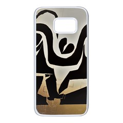 With Love Samsung Galaxy S7 White Seamless Case