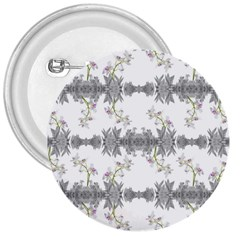 Floral Collage Pattern 3  Buttons