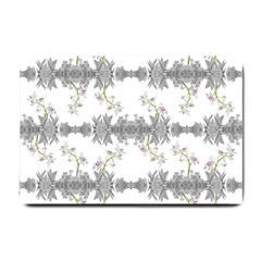 Floral Collage Pattern Small Doormat