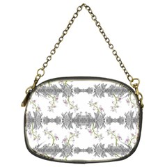 Floral Collage Pattern Chain Purses (one Side)