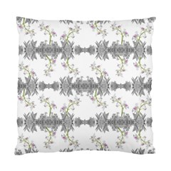 Floral Collage Pattern Standard Cushion Case (two Sides)