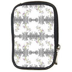 Floral Collage Pattern Compact Camera Cases