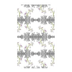 Floral Collage Pattern Memory Card Reader