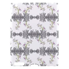 Floral Collage Pattern Apple Ipad 3/4 Hardshell Case