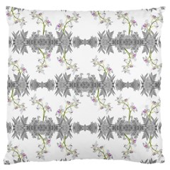 Floral Collage Pattern Large Cushion Case (one Side)
