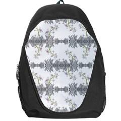 Floral Collage Pattern Backpack Bag