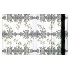Floral Collage Pattern Apple Ipad 3/4 Flip Case
