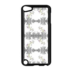 Floral Collage Pattern Apple Ipod Touch 5 Case (black)