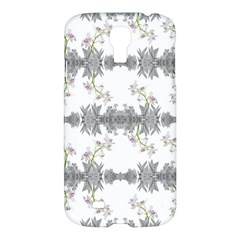 Floral Collage Pattern Samsung Galaxy S4 I9500/i9505 Hardshell Case