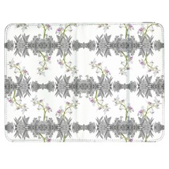Floral Collage Pattern Samsung Galaxy Tab 7  P1000 Flip Case