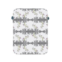 Floral Collage Pattern Apple Ipad 2/3/4 Protective Soft Cases