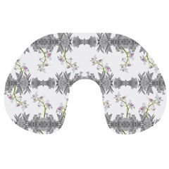 Floral Collage Pattern Travel Neck Pillows