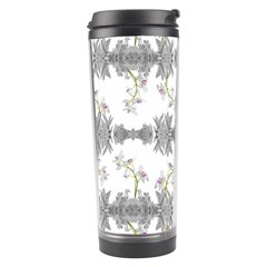 Floral Collage Pattern Travel Tumbler
