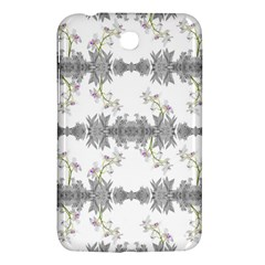 Floral Collage Pattern Samsung Galaxy Tab 3 (7 ) P3200 Hardshell Case