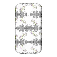 Floral Collage Pattern Samsung Galaxy S4 Classic Hardshell Case (pc+silicone)